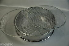 Stainless steel Sieve Set d300mm with 3 Mesh set 3,5,7mm / Japanese bonsai tool