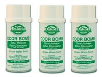 Dakota Odor Bomb Car Odor Eliminator - Ocean Water 5 oz. x 3 PACK DAK-48-OW