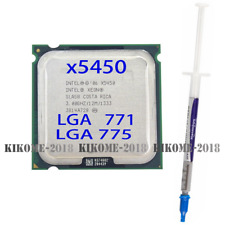 Intel Xeon X5450 3.0GHz quad-core processor compatible LGA775 ultra Q9550. Q9650