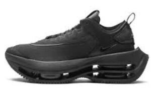 Women's Sz 12 (mens Sz 10.5) Nike Zoom Double Stacked Triple Black CV8474 300