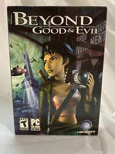 Beyond Good & Evil (Windows PC, 2003) Small Box Ubisoft CD-ROM Brand New, Sealed