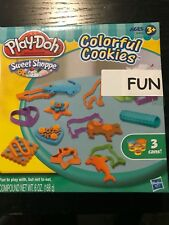 New In Box Hasbro Play-doh Sweet Shoppe Colorful Cookies Play Set