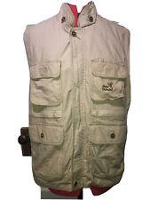 Ducks Unlimited Men's Size XL Hunting Vest Full Zip 4 Pockets 100% Cotton