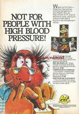 Cylon Attack Snarl-Up Gumshoe Alpha-Beth Game 1985 Vintage Magazine Advert #5287