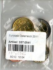 Eurosatz Komplettsatz Österreich 2011 Münzen