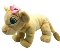 "Disney Lion King Baby Nala 11"" Plush Nala Cub With Flower Disney Stuffed Animal"