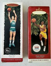 Hallmark Keepsake - Larry Bird and Magic Johnson Ornaments