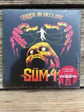 Sum 41 Order in Decline + 2 Extra Songs Bonus Guitar Pick CD 2019 Exclusive New