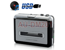 Portable Cassette Tape Player + Cassette To USB Digital Audio Adapter