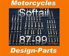 Pouces vis kit moteur v2a/boîte de vitesses pour Harley softail 87-99