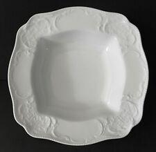 Rosenthal Sanssouci White  Porcelain  9in Square Serving Bowl