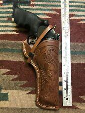 "Fits Ruger Redhawk 44 Magnum 5 1/2"" Barrel Leather Field Holster Usa Made"