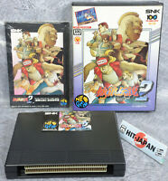 NEO GEO AES FATAL FURY 2 Ref/0915 FREE SHIPPING Neogeo SNK JAPAN Video Game