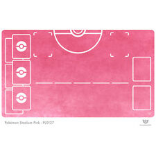 Pokemon Stadium Pink - Pokemon Play Mat (PL0127)