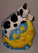 Cow Jumped Over the Moon Cookie Jar Bico China