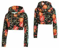 Puma x Sue Tsai Crop Top Pull Over Hoodie Sweatshirt Jumper Womens 578219 01