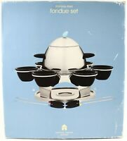 NEW * Michael Graves Design 21 Piece Stainless Stainless Steel Fondue Set