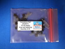 2N2907A Transistors, PNP  TO-92, Switching and Audio,  QTY of 20