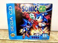 Sonic CD NOT FOR RESALE Version Complete for Sega CD TESTED & WORKS GREAT As Is