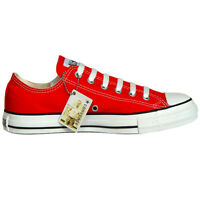 Converse Chucks 39 Rot Red CHUCK TAYLOR ALL STAR Limited Edition OX Lo M9696