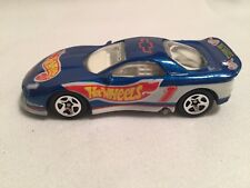 Hot Wheels 1993 Camaro Blue No Driver Name On Roof 1992, Malaysia 1:64 Diecast