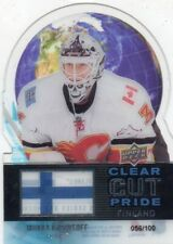 2012-13 Upper Deck Clear Cut Pride Miikka Kiprusoff /100