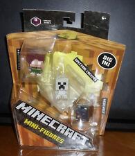 Minecraft 3 Pack Spooky Series 9 Farlander Spectral Creeper & Werewolf NIP