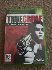TRUE CRIME STREETS OF L.A XBOX