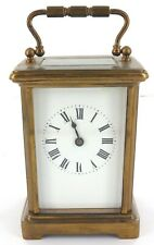 * VINTAGE FRENCH MADE CARRIAGE CLOCK. A FIXER.