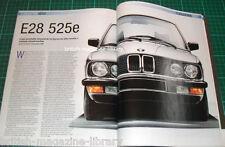 BMW Car 2007 E28 525e - Prodrive E30 M3 Cooper v E39 M5 328 Mille Miglia Phantom