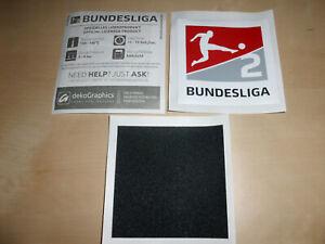 2. Bundesliga Patch Badge 21/22 20/21 HSV Kiel Schalke wie beim Matchworn Trikot
