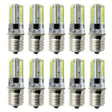 10pcs E17 C9 LED Light 80Led Microwave Bulb 110V White 6500K Lamp USA Shipping