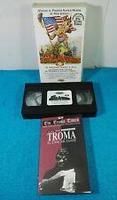 PELICULA VHS VINTAGE GORE ESPAÑOL - THE TOXIC AVENGER 2 EL VENGADOR TOXICO