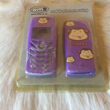 PURPLE CHEEKY MONKEY Nokia 6510 & 8310 Mobile Phone Case Cover Housing + Keypad