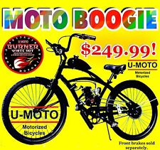 "2-Stroke 66Cc/80Cc Motorized Bike Kit With 26"" Cruiser Bicycle High Performance"