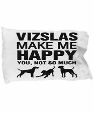 Vizslas Make Me Happy - Funda de almohada