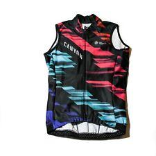 Women's 2017 Rapha Canyon/SRAM Team Thermal Cycling Vest, Black, Size XS / 1 EUC