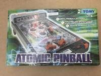 Tomy Atomic Pinball Electronic Arcade Machine Vintage 1979 Fully Working