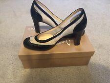 NIB Christian Louboutin AuthenticShoes Heels Paris Black/White SZ 38