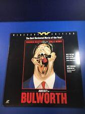 Rare Laserdisc - Bulworth - Widescreen edition