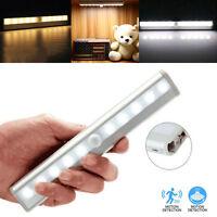 Lampe 10 LED PIR Detecteur de Mouvement Sans fil Pour Armoire Tiroir Cabinet Bar