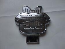 New Car Badge Triumph Sports Owners Association Fray Ltd BS 1004 England