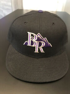 Bend Rockies Fitted New Era 5950 Cap Hat 7 3/8 Made In USA Northwest League