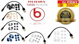 beats x eartips/ charging cable