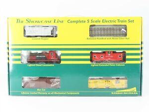 "S Scale S-Helper ""The Showcase Line"" Diesel Train Set w/ Track & Power Pack"