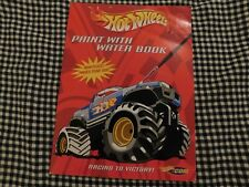 Hot Wheels Paint with Water - Racing to Victory paperback