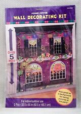 New Orleans La Scene Setter Wall Decorating Kit 2 Pieces 32.5 x 65 Over 5' Tall