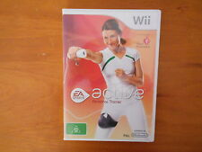 Wii ACTIVE PERSONAL TRAINER WITH  MANUAL V GD COND - FAST POST