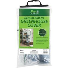 Best Garden 27 In.W x 63 In.H x 19 In.D Replacement Cover For 4-Shelf Greenhouse