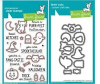 Texting ~1684,1685 Lawn Fawn Photopolymer Stamp /& Die Combo ~ SCREEN TIME Games
